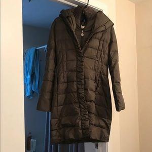 Tahari fitter puffy coat